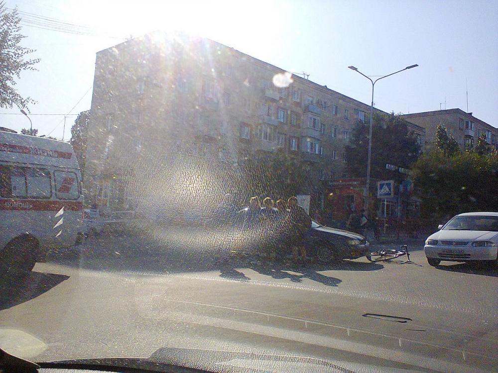 В Камышине на улице Ленина сбили велосипедиста