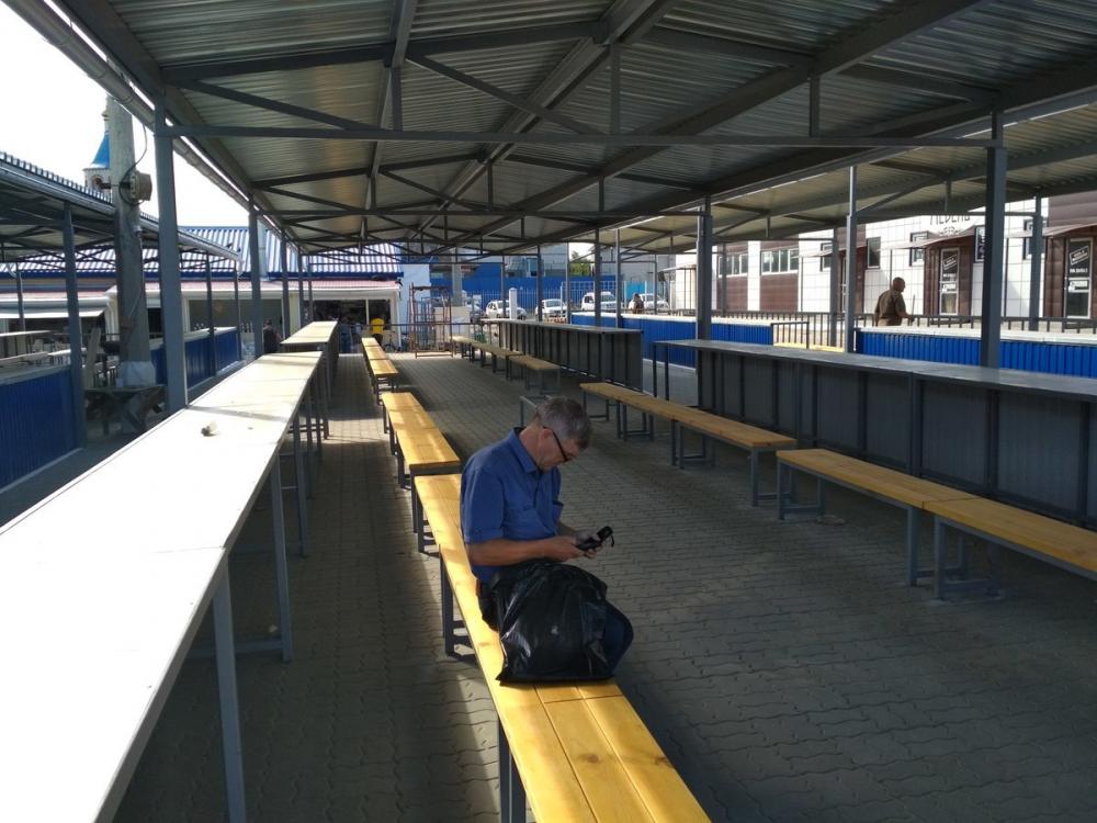 В Камышине на центральном рынке появились новые торговые места