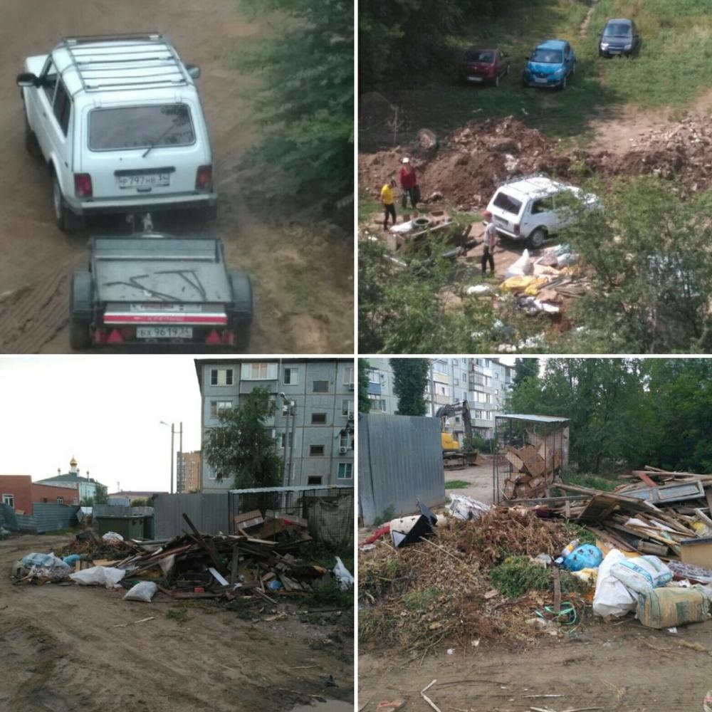 В невывезенном мусоре в одном из райцентров Волгоградской области развелись крысы, Камышин на очереди?
