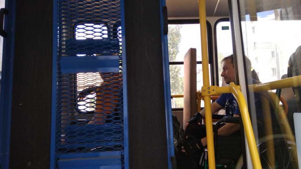 Чем закончилась «забастовка» камышинских инвалидов в автобусе 12-го маршрута