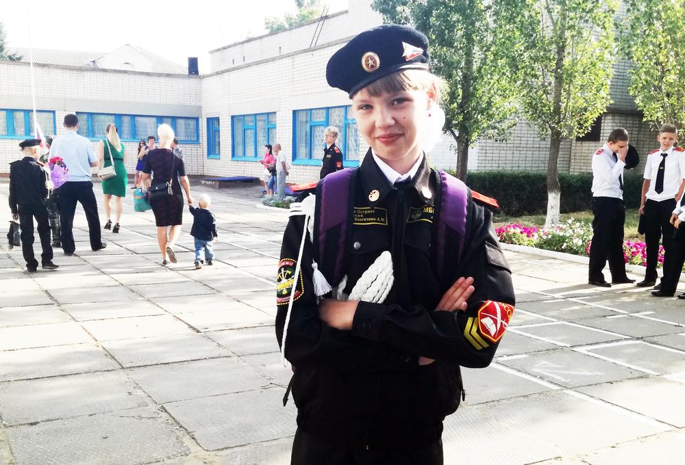 В спортшколе №3 Камышина загорается звездочка юной пловчихи Даши Щепоткиной