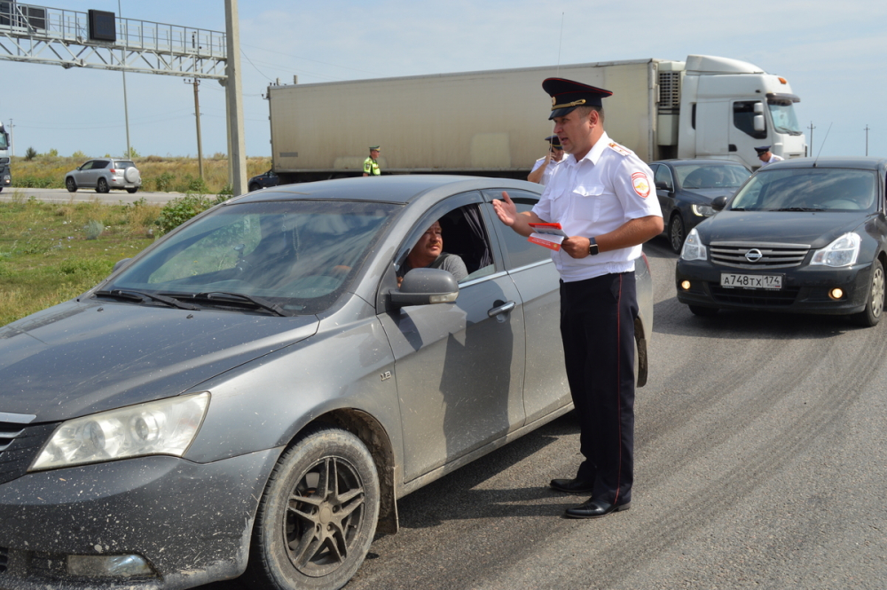 На границе Саратовской и Волгоградской областей, в Камышинском районе, ГИБДД просила водителей не лихачить и не переутомляться