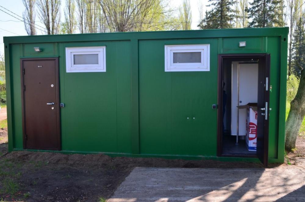 В Камышине в детском оздоровительном лагере «Солнечный» запускают эксперимент с туалетами