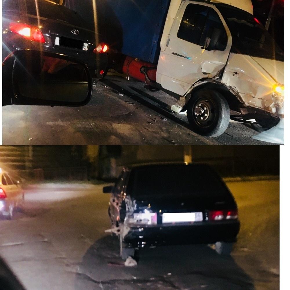 В Камышине на перекрестке улиц Базарова и Гагарина зафиксировано ДТП