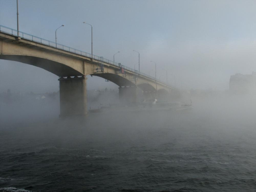 В Камышине прописались пасмурные дни с туманами