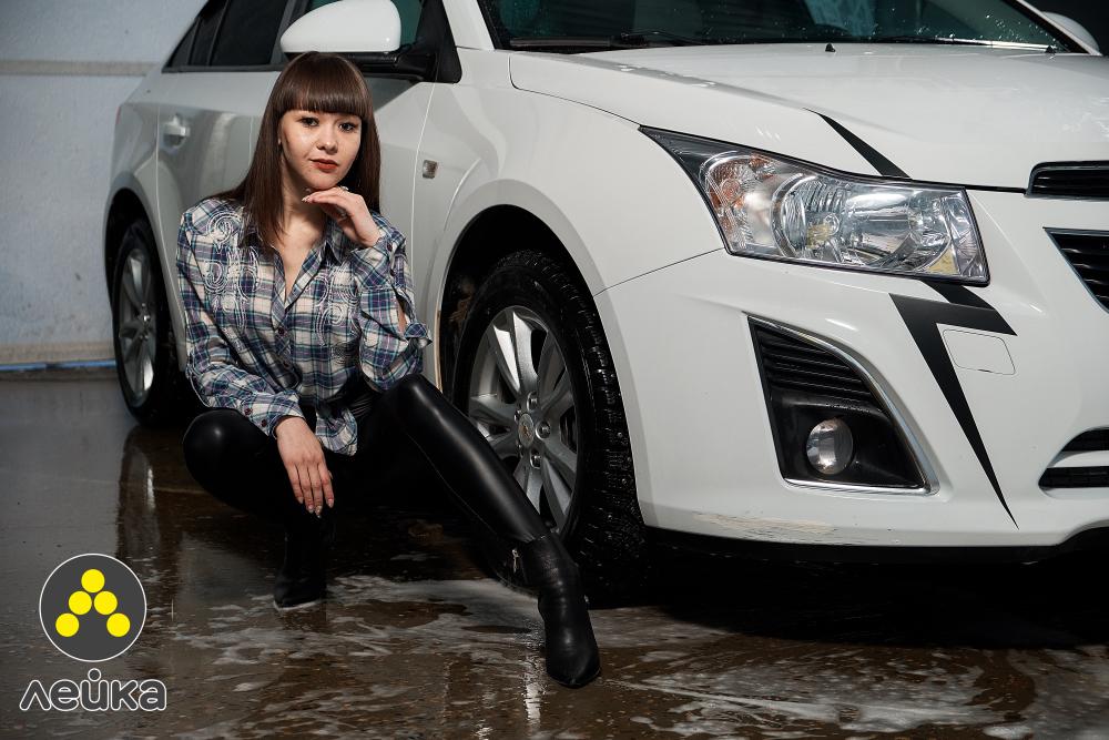 «Блокнот Камышина» представляет участниц конкурса «Мисс Cнегурочка-2019»: фотосессия в «Сети умных автомоек «Лейка»