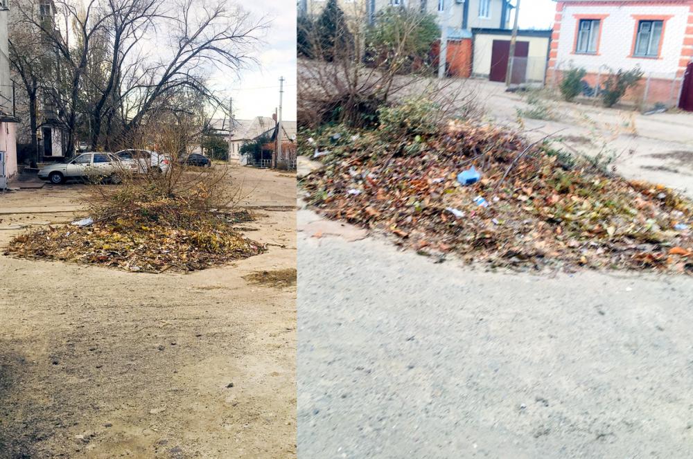 Бесценный труд и грязные дворы: камышане возмущены обстановкой в городе