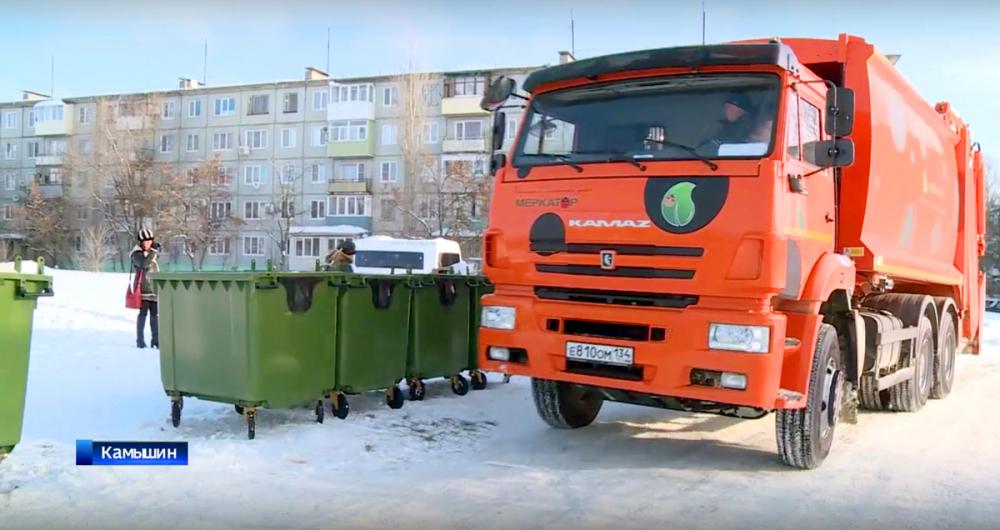 В Камышине только 6 единиц транспорта вывозят  мусор, а не 15, как раньше