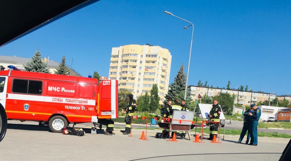 Вой сирен пожарных машин перепугал жителей северной части Камышина