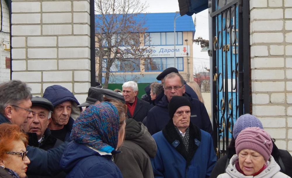 В Камышине проводили в последний путь ветерана журналистики Николая Максимовича Присталова