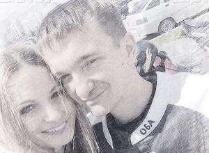 Байкеры Волгоградской области оплакивают влюбленных друзей Сергея и Кристину, жизни которых в одну минуту забрал водитель Chevrolet во вчерашней смертельной аварии