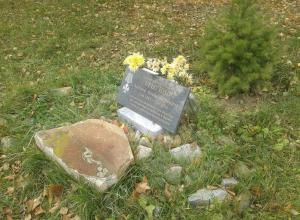 В Камышине в «политических целях» открыли памятную плиту, которая сейчас заброшена