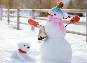 Городской семейный конкурс «Парад снеговиков» - прими участие