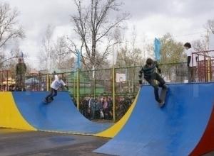 Власти Камышина планируют открыть две детско-юношеских площадки со скейтбордингом у воды