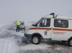 Из-за непогоды в Волгоградской области закрыли ростовскую трассу