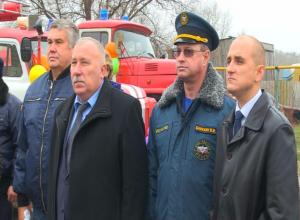 В Камышинском районе появится новое подразделение противопожарной службы