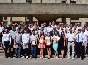 В Камышине наградили спортивный актив города