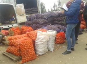 В Камышине в борьбе за покупателя продавцы овощей дают бесплатно пять картошек сварить на пробу