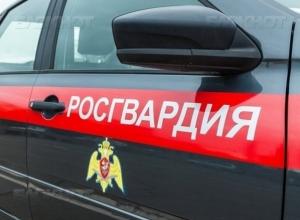 В Камышине сотрудники Росгвардии задержали местного жителя, находившегося в розыске с сентября