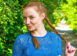 Ярных Алена участница конкурса «Мисс блокнот Камышин-2017» в квесте