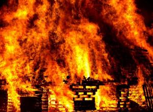 В Камышине в пожаре погиб мужчина