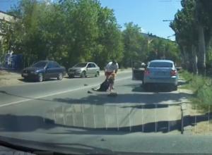 Водитель переехал девушку-полицейского, - «Блокнот Волжского»