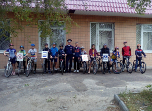 В Камышине прошло профилактическое мероприятие «Внимание велотранспорт»