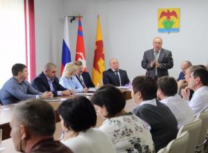 Сегодня был выбран глава Камышинского района