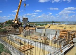 В Камышинском районе строится новое пожарное депо