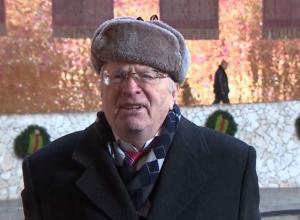 Владимир Жириновский заявил в Волгограде, что роды мешают карьере женщин