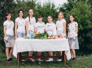 В конкурсе «Блокнота Камышина» «Мисс уникальность- 2018» прошел «вкусный» этап «Полевая  кухня»