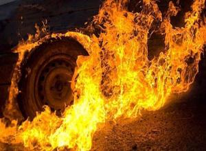 В ДТП под Камышином загорелось авто: погибли два человека