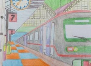 В конкурсе «Я – будущий железнодорожник» в Петров Вале в финал вышли трое детей