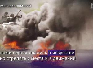 Камышинские десантники приняли участие в гонках на БМД на полигоне под Новороссийском