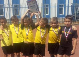 Юные воспитанники футбольного «Текстильщика» привезли почетное третье место из Волгограда