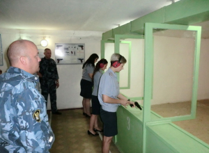 Капитан внутренней службы Камышинской ИК-5 стала лучшим сотрудником организационно-аналитической группы