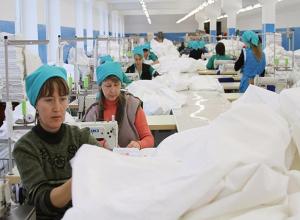 Порядка 50 миллионов рублей получит в 2017 году ООО «Камышинский текстиль»