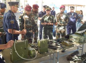 На территории 56-й Камышинской отдельной десантно-штурмовой бригады впервые проходит визит иностранных военнослужащих