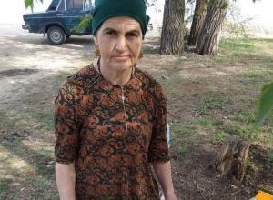 Волонтеры Камышина разыскивают пропавшую женщину 60 лет, которая не говорит по-русски