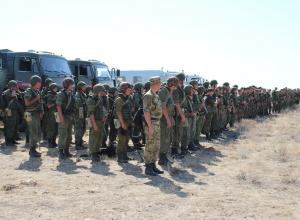 Палласовский район Волгоградской области выбрало для тактических учений Пограничное управление ФСБ России и успешно провело их