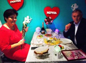 Победители конкурса «Счастливы вместе!», проведенного «Блокнотом Камышина», отдохнули за призовым ужином