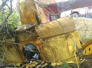 Тело волгоградского пилота до сих пор находится в разбившемся под Ульяновском самолете