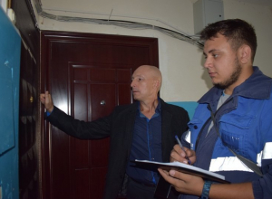 В Камышине обследуют техническое состояние газового внутриквартирного оборудования