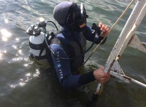 Водолазы Камышинской спасательной станции ведут круглосуточный контроль за акваторией Камышинки и Волги