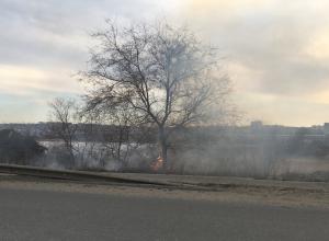 Вокруг Камышина образовался черный пояс пепелищ, но площадные пожары продолжаются