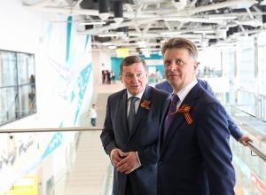 В аэропорту Волгограда с участием федерального министра открыт новый терминал внутренних авиалиний