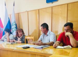 Председатель Территориальной избирательной комиссии Камышина провел брифинг для представителей партий и СМИ на старте кампании