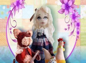 Выставка «Кукол в платья наряжали» в Камышине