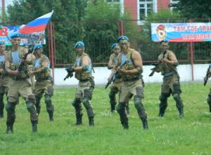 У камышинских десантников начались первые в наступившем году учения