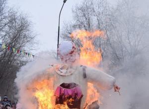 Почему в Камышине Масленица сгорела, а в некоторых российских городах жечь Авдотью не стали